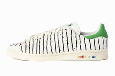 new concept 5d1f3 f3615 Pharrells Hand-Painted ' - Sneaker Freaker. Stan Smith SneakersAdidas ...