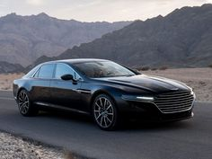 Aston Martin Lagonda concept, 2015. - Running prototype