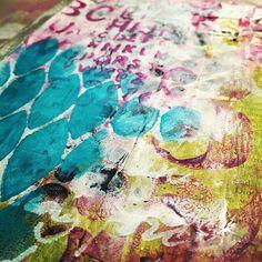 art journal background by strawberryredhead