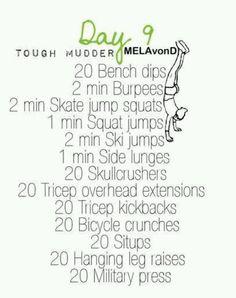 Tough Mudder | Day 9