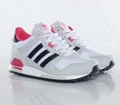 adidas Originals ZX 700 W – Running White / Legend Ink – Blaze Pink #sneakers #kicks