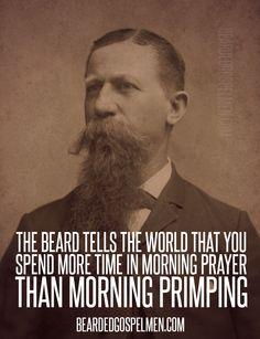 Morning prayer time.  Quote taken from @SaintBeardrick