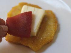 Aborrajados - AntojandoAndo Colombian Food, Ceviche, Street Food, Waffles, Pineapple, Cheesecake, Healthy Recipes, Healthy Food, Fruit