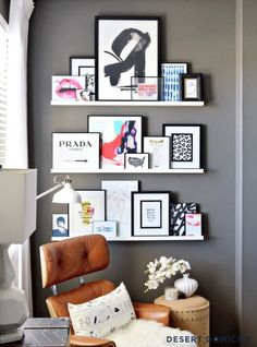 Perfect Shelves For Organizing Your Office!!