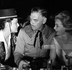 Actor Clark Gable and wife Kay Spreckels in Los Angeles, California.