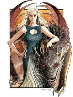 Game of Thrones - Daenerys Targaryen by Daniel Govar *