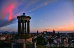 Edinburgh, Calton Hill, Scotland