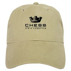 CafePress - Chess - Baseball Cap with Adjustable Closure, Unique Printed Baseball Hat -- Want to know more, click on the image.