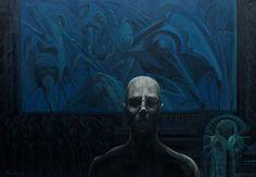 Pavle Maksimovic, Creator, Acrylic on canvas, 100cm x 70cm, 2013. on ArtStack #pavle-maksimovic #art