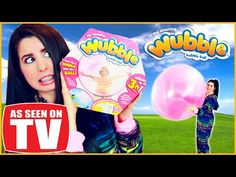 The Wubble Bubble: Epic Fail! Uncensored Real Life Review! - YouTube