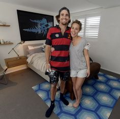 Charlotte and Josh   Room Reveal 3   Bedroom TwoThe Block Shop - Channel 9