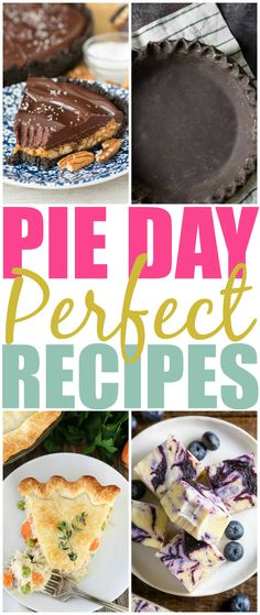 National Pie Day: 23 Pies, Crusts and Pie Inspired Recipes