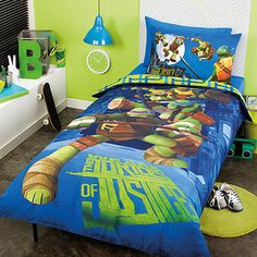 Teenage Mutant Ninja Turtles Dark Ninja Bedding And