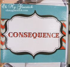 Kids consequences  Behavior consequences for toddlers