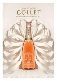 Nouvelle campagne pour le champagne Collet - Campagne de pub - l'ADN