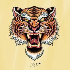 95ac6a029736244a7ab517e7fdb055f4--tiger-tattoo-old-school-styles-of-tattoos.jpg (236×234)