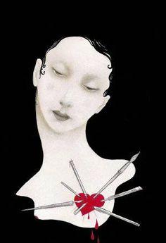 Cover book by Ana Juan Spanish Artists, Hand Art, Pop Surrealism, Global Art, Female Art, Comic Art, Illustrators, Street Art, Illustration Art