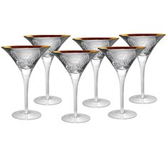 Artland Inc Brocade Martini Glasses  Set of 4 *** Visit the image link more details.