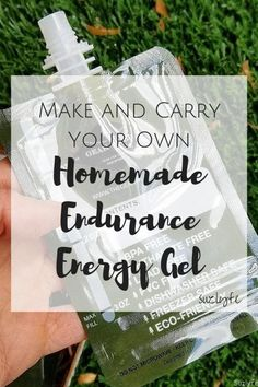 Make and Carry Your own Homemade Endurance Energy Gel with these natural recipes from@Suzlyfe and @TheGearWell Endurapouch! http://suzlyfe.com/homemade-energy-gel-running-endurapouch-coaches-corner-52