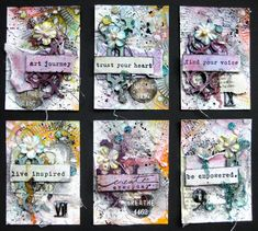Mixed Media ATC Start-to-finish Video Tutorial