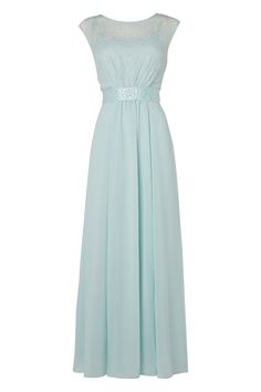 Aqua maxi dress quiz