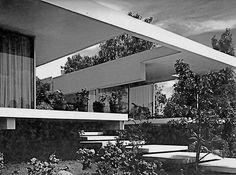 Casa Perezcano, Calle del Agua 383, Jardines del Pedregal, México, DF 1968, Arq. José María Buendía