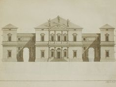 "San Martin Arts Crafts: ""Andrea Palladio architectural drawings""_Old Masters"
