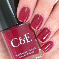 "Crabtree & Evelyn ""Cranberry"" nail polish ~ Chantal's Corner"