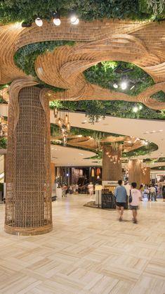 Low Budget Home Decoration Ideas Key: 2679760973 Concept Architecture, Futuristic Architecture, Amazing Architecture, Landscape Architecture, Interior Architecture, Interior And Exterior, Landscape Design, Hotel Lobby Design, Mall Design
