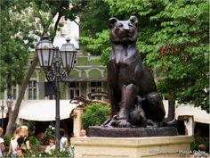 Garden Sculpture, Lion Sculpture, Ukraine, Statue, Outdoor Decor, Art, Art Background, Kunst, Performing Arts
