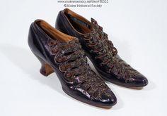 Women s dress shoes, ca. 1900. Item   50322 on Maine Memory Network  Винтажная 689f58b4a1a