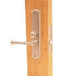 Deltana SDL688U15 Mortise Lock Screen Latch by Deltana. $74.85. Finish :Satin Nickel  Founded in 1977, Deltana is the architectural hardware manufacturer with a proven record for exceptional service and quality.   1-1/2' Backset  7/8'- 1-3/4' Door Thickness range  6'x 1-1/2' Extruded brass escutcheon plates  3-1/4'x 3/4' Face Size  Reversible Handing  1-3/4' solid brass knob projection  2' solid brass lever projection. Save 25% Off!