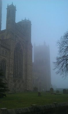 Misty morning at Durham Cathedral, England. Durham England, Durham City, St Johns College, Durham Cathedral, Northern England, Chichester, Westminster Abbey, Gothic Architecture, Sunderland