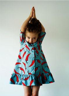 Wolf & Rita chili dress for Summer 2014 kids fashion collection