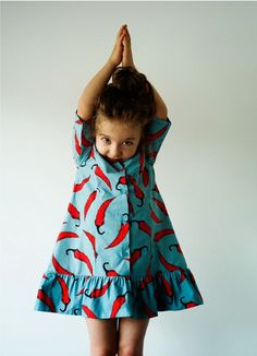 Wolf & Rita chili dress for Summer 2014 kids fashion collection