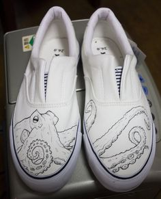 Octopus shoes by dannyPs-customs