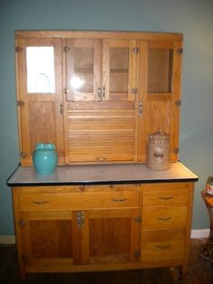 Antique Hoosier Cabinet.  Looking for a restoration project to put in my kitchen.  Early Christmas gift!!