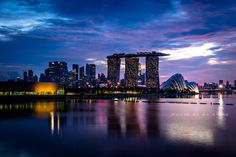 City at Night by Ah Siong on 500px