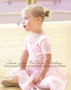 """Dance Like No One is Watching""...a special post on teaching inclusion, tolerance, sensitivity, and love to our children. #nationaldownsyndromeawarenessweek via www.mysmallpotatoes.com"
