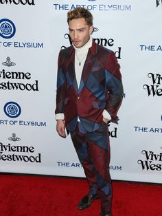 Ed Westwick attends Art of Elysium's 9th Annual Heaven Gala.