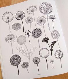 dandelion vector doodle - Buscar con Google