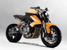 Krax Moto Benelli 600 BN Concept.