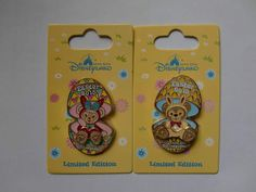 Disney pin - HKDL - Happy Easter 2015 – Duffy & ShellieMay (2 pins) LE500