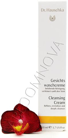 Dr. Hauschka Cleansing Cream is a cleanser for all skin conditions. It cleanses, exfoliates, fortifies and refreshes, protecting the skin's natural protective function for healthy, radiant skin. #DrHauschka #natural #facecare #skincare #cleansingCream #cleanser #allSkinTypes