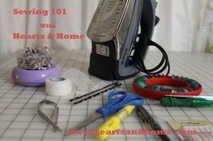 Sewing 101: Tools of the Trade