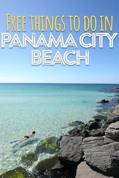 Apr 2019 - You don't have to break the bank to enjoy these fun activities! Panama City Beach Florida, Florida Vacation, Florida Travel, Vacation Places, Panama City Panama, Vacation Trips, Vacation Spots, Places To Travel, Travel Destinations