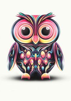 Yonders Owl on Behance