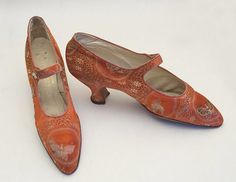 1920's accessories- brocade shoes 1920s
