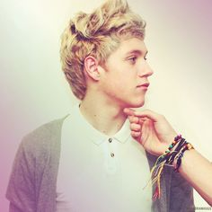 Niall!...WAIT! WHO'S HAND IS THAT TOUCHING HIM!??!?! IT BETTER BE LIAM.