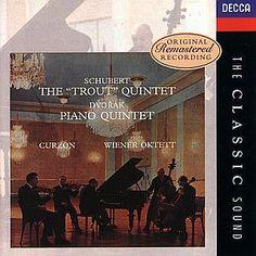 AmazonSmile: Schubert, Dvorak, Clifford Curzon, Vienna Octet, Wiener Oktett, Wiener Philharmonisches Streichquartett: Schubert: Trout Quintet / Dvorak: Piano Quintet: Music